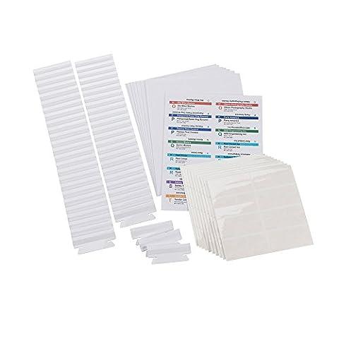Smead Viewables® Labeling System, Refill Pack, Hanging Folder Labels, Ink-Jet
