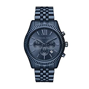 Michael Kors Reloj Analógico para Hombre de Cuarzo con Correa en Acero