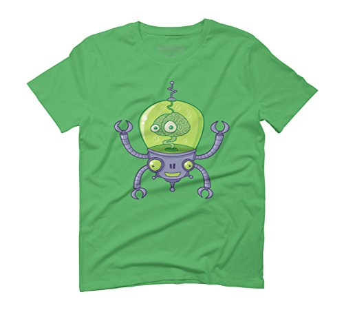 Brainbot Men's Graphic T-Shirt - Design By Humans Green