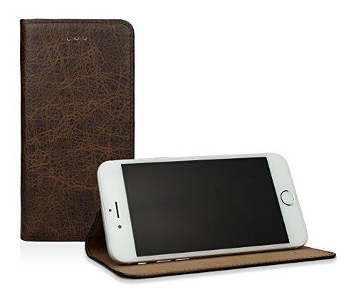 CASEual LESLIM6s-VINT-MAM dünne Leder-Tasche für Apple iPhone 6s, Vintage mamut