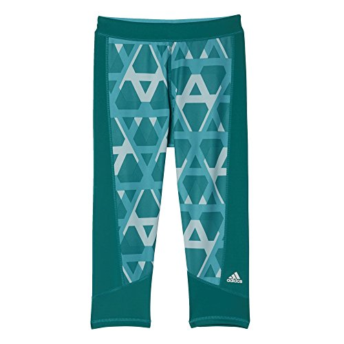 adidas AJ2271 Pantalon Femme Bleu/Blanc