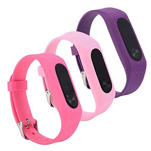 VAN-LUCKY Correa de repuesto banda para Xiaomi Mi banda 2 bandas Smart Bracelet Accessories (No Tracker)