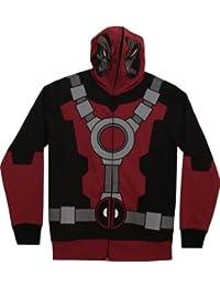 Marvel Deadpool Mr. Pool Costume Hoodie Sweatshirt (Adult X-Large)