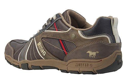 Mustang  4085-303-32,  Herren Sneaker Braun - Dunkelbraun