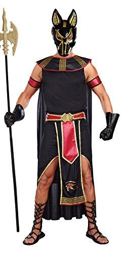 Kostüm Anubis - Dreamgirl 10251Anubis Gott der Unterwelt Kostüm (2x große)
