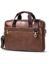 Shuo lan Bolso de cuero del bolso de Crossbody de los hombres del cuero del  maletín de los hombres Bolso de… 327c5eb236d