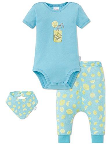 Schiesser Jungen Mütze, Schal & Handschuh Baby Set, 3er Pack, Mehrfarbig (Sortiert 1 901), 068