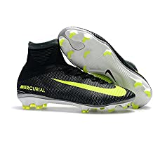 Lowm fútbol hombre zapatos botas de fútbol MERCURIAL Superfly V CR7, hombre, negro, EUR35=UK2