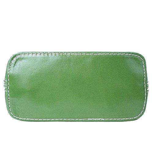 Florence Leather Market, Borsa a tracolla donna Small Verde scuro