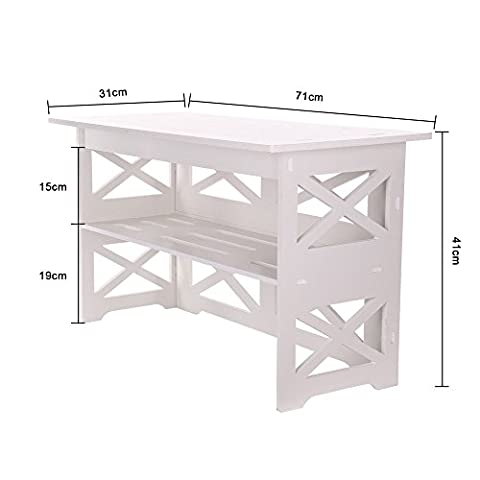 Wpc Hall Entry Way Shoe Stand Or Chair Shelf Storage
