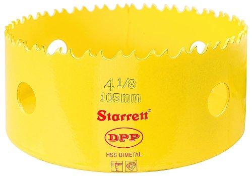 Starrett dh0418105mm 4.1/8HSS-Bimetall Professionelle Dual Pitch Lochsäge