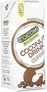 Cocomi Bio Organic Coconut Drink Coffee, 330 ml