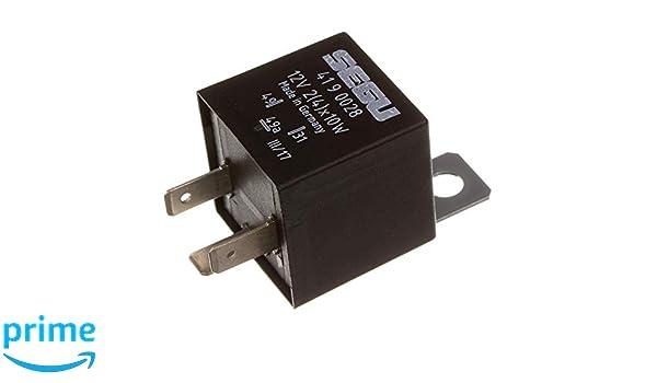 SEGU elektronisch Blinkrelais für SIMSON Blinkgeber 12V 2 4 x 10W