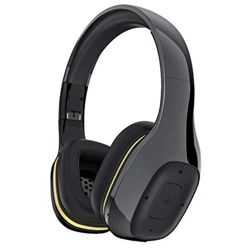 Drahtloses Headset, Bluetooth-Rauschunterdrückung In-Ear-Stereo-Stereo-Headset mit Mikrofon, Unterstützung für Freisprechen auf dem PC/Mobile / Tv