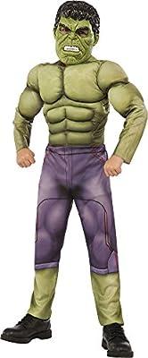 Hulk - Disfraz deluxe, talla L (Rubie's Spain 620196-L)