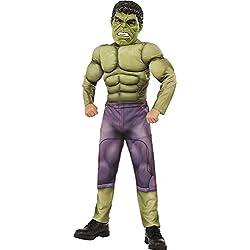 Hulk Disfraz deluxe, talla L (Rubie's Spain 620196-L)