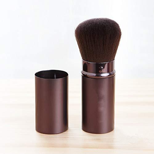 yyy123 Portable De Brosse De Fard À Joues Télescopique De Beauté avec La Couverture Brosse Libre De Maquillage De Poudre De Maquillage Brosse De Maquillage