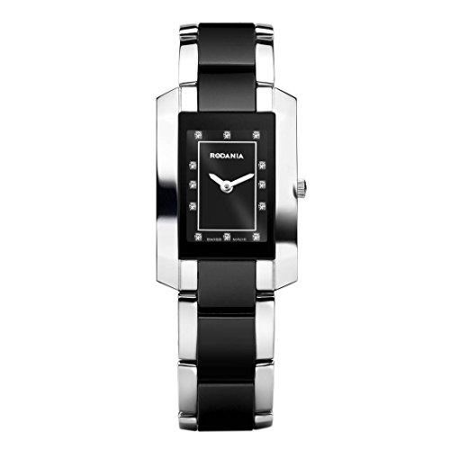 RODANIA 24573–48–Wristwatch women's, stainless steel strap