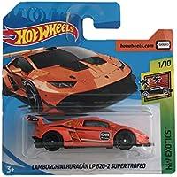 Hotwheels Lamborghini Huracán LP 610-4 grün Neu Spielzeugautos