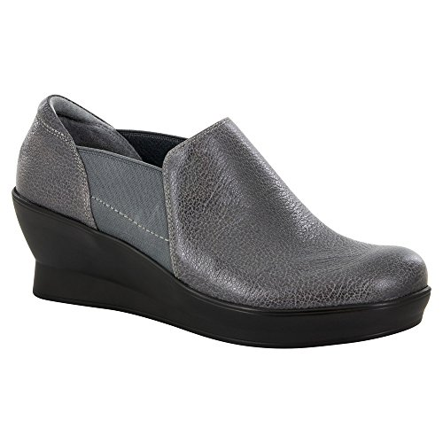Alegria Womens Fraya Loafers Shoes Grey Glaze