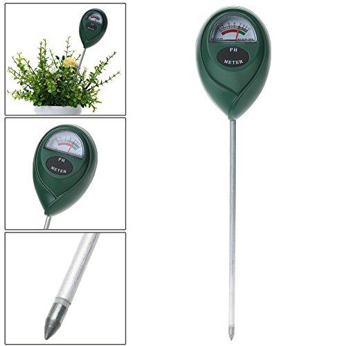 Broadroot Boden PH Messer pH-Wert-Tester für Pflanzen Kulturen Blumen Gemüse