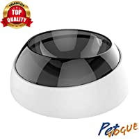 PetVogue Mease Removable Adjustable Angle 15 Degree Tilt Easy to Clean Anti-Skid Food and Water Feeding Bowl for Dogs…
