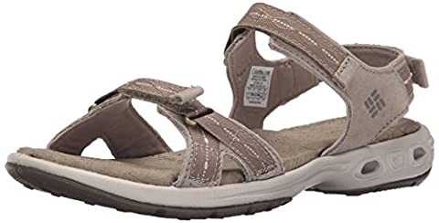 Columbia Women's Kyra Vent Ii Hiking Sandals, Beige (Silver Sage, Pebble 103), 9 UK