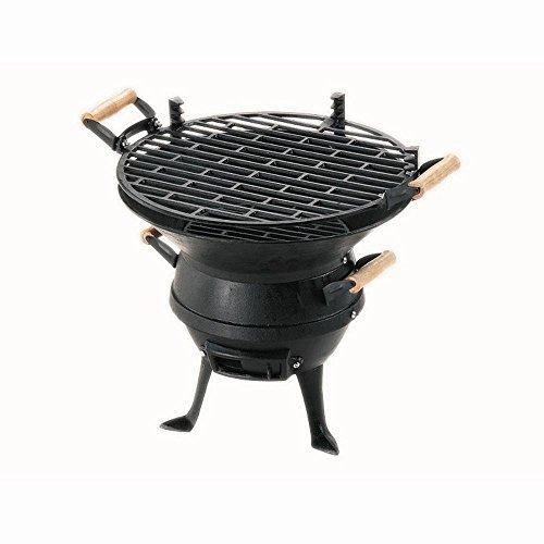 Barbacoa portátil de sobremesa Ladmann GrillChef 0630