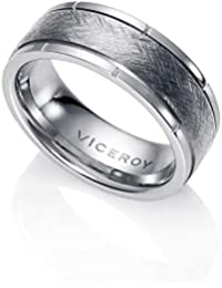 64cd8d9ed3e0 Amazon.es  anillos viceroy hombre - Acero inoxidable  Joyería