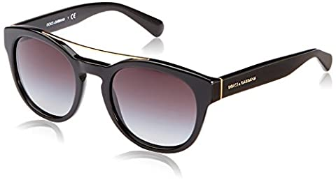 DOLCE & GABBANA Women 4274 Sunglasses, black