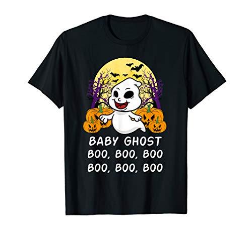 Kostüm Boo Baby - Halloween Baby Ghost Geist Boo Boo Boo Lustig Kind Geschenk  T-Shirt