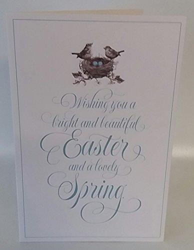 s Vogelnest Frühling Ostern Karte Geschenk ()