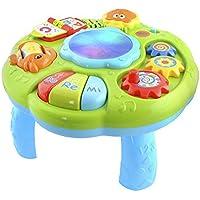 Smoby Cotoons Baby Spieltisch Aktivitätstisch Motorikspielzeug Tisch Rosa 211170