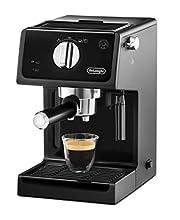 De'Longhi ECP31.21 Macchina da Caffè Espresso Manuale e Cappuccino, Caffè in Polvere o in Cialde E.S.E., 1100 W, Nero