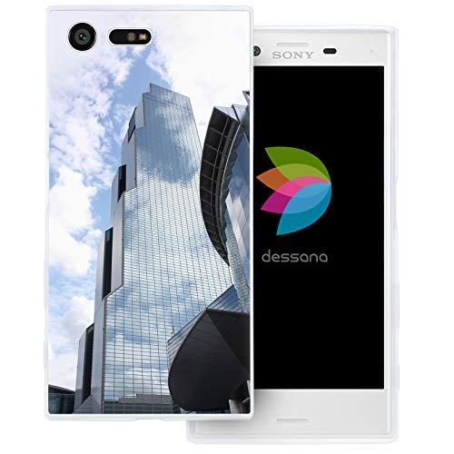 (dessana Seoul Südkorea transparente Schutzhülle Handy Case Cover Tasche für Sony Xperia X Compact Korea World Trade Center)