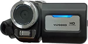 """Feastronics Compact High Definition Mini Digital Camera / Camcorder - HDMI port.  Max still resolution of 16MP*. Built in MP3 / MP4 player and 2.4"""" LTPS Flip Screen, 32MB memory built in with SDHC / MMC card expansion slots."""