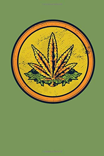 Weed Coin: 6x9 Dot Grid Notebook Journal, 120 pages -