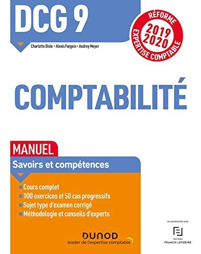 DCG 9 Comptabilité - Manuel - Réforme 2019-2020 par Charlotte Disle