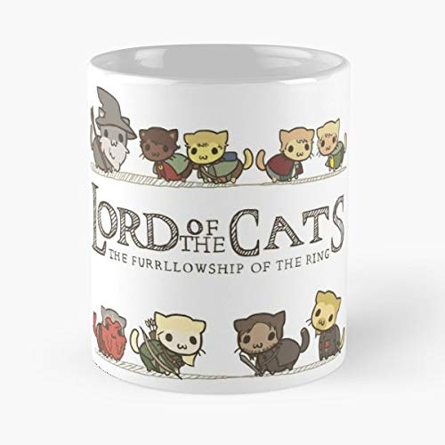 Parody Lord Of The Rings Lotr Cats Mug Coffee Mugs For Gifts - Best 11 Ounce Ceramic Coffee Mug Gift