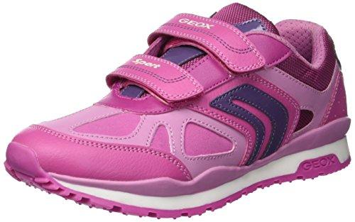 Geox J Pavel Girl A, Zapatillas para Niñas