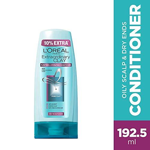 L'Oreal Paris Extraordinary Clay Conditioner, 175ml (With 10% Extra)