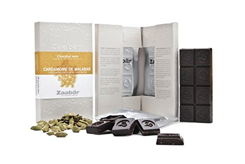 Zaabär Schokolade mit Kardamom von Malabar 70 gr.