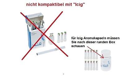 "10 Stk Aromakapseln /""Nikotindepots""/ (=5x2 Einzeldepots) *Creamy* 0.mg für jede gängige E-Zigarette (z.B Clever Smoke, E-wellness, e-health ..) von SmokeyB."