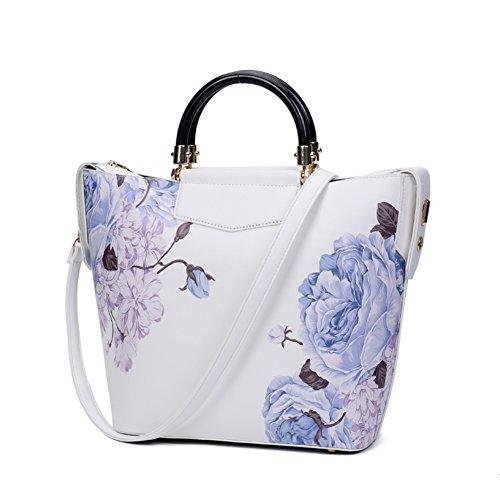 Stile cinese pittura Magnolia/Borsa grande/Peonia stampa moda borsa-E E