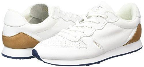 GANT Campus Damen Sneakers Weiß (white G29) dp7EPbI