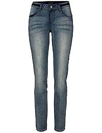 Jeans avec Star de strass Femmes de Laura Scott