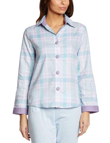 Cyberjammies - Parte superiore del pigiama, donna Multicolore (Aqua Mix)