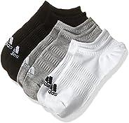 adidas womens LIGHT NOSH 3PP No Show Socks