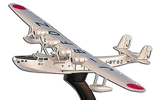 1936-kawanishi-4-engine-flying-boat-japan-airways-aircraft-built-up-die-cast-1-300-model-power-by-da