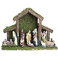 Toyland® 12 Piece Traditional Christmas Nativity Scene - Christmas Decorations